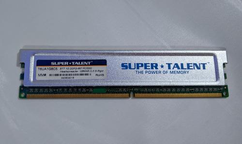 Memoria Ram Pc Ddr400 1 Gb Super Talent C/disipador-belgrano
