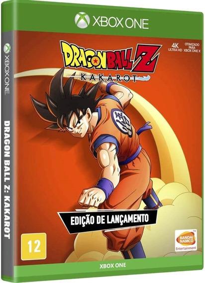 Dragon Ball Z Kakarot Xbox One Disco Fisico Novo Português