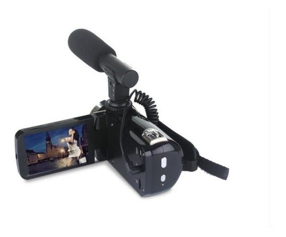 Câmera Youtubers Iniciantes Profissional Full Hd 24 Mp