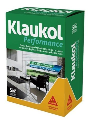Imagen 1 de 3 de Pastina Alta Performance Para Porcellanato (5kg) Klaukol