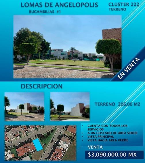Terreno En Lomas De Angelopolis 222