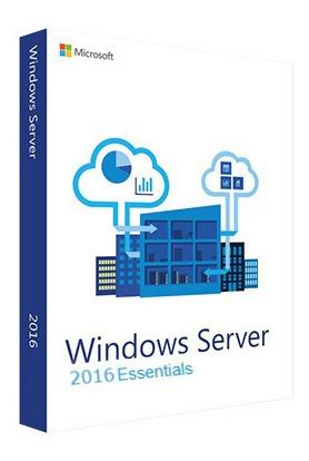 Windows Server 2016 Essentials Retail C.garantia + Nota.f