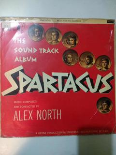 Disco Vinilo Soundtrack Spartacus (año 1960 Kirk Douglas)