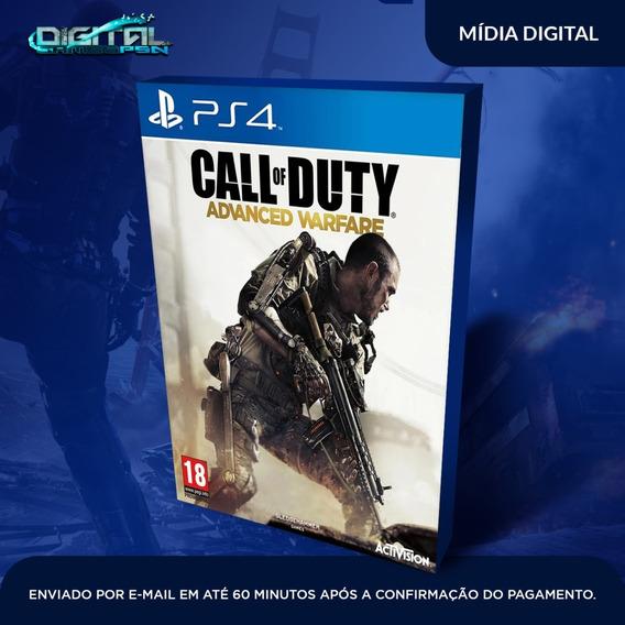 Call Of Duty Advanced Warfare Ps4 Midia Digital Envio Já!