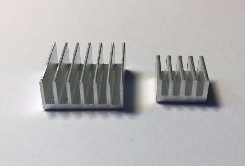 Dissipador De Calor Alumínio Para Raspberry Pi Pi3 Kit C/ 2