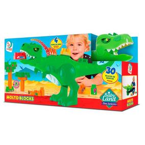 Dinossauro Pedagógico Baby Land Brinquedos Bebês Cardoso