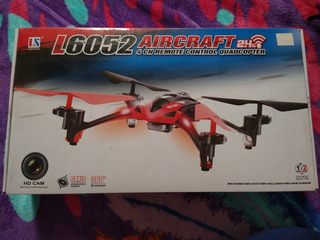 Dron Lishitoys L6052 4 Canales 6 Ejes 2.4g Con Cámara Hd
