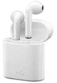 Fone De Ouvido Bluetooth I7s Tws 4.2 C/ Case De Carregamento
