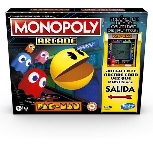 Juego Monopoly Arcade Pac-man - Juego De Mesa Monopoly