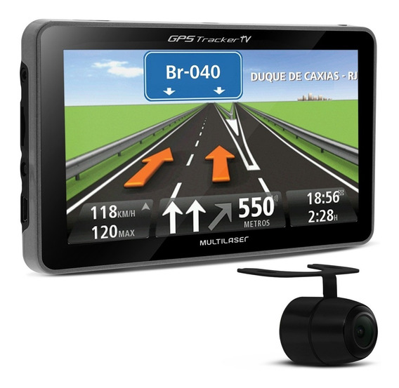Gps Automotivo Multilaser Tv Digital 4.3 Pol Alerta De Radar