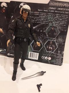Figura Terminator 2 T1000 Motorcycle Cop