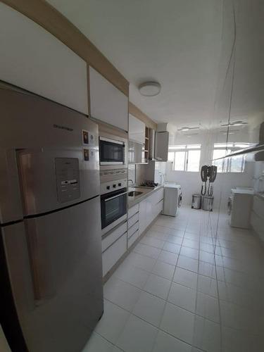 Apartamento Com 3 Dormitórios À Venda, 65 M² Por R$ 320.000,00 - Villa Branca - Jacareí/sp - Ap1563