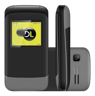 Celular Para Idoso Com Flip Abre E Fecha Dual Chip