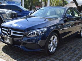 Mercedes Benz Clase C 200 2018 Exclusive Azul