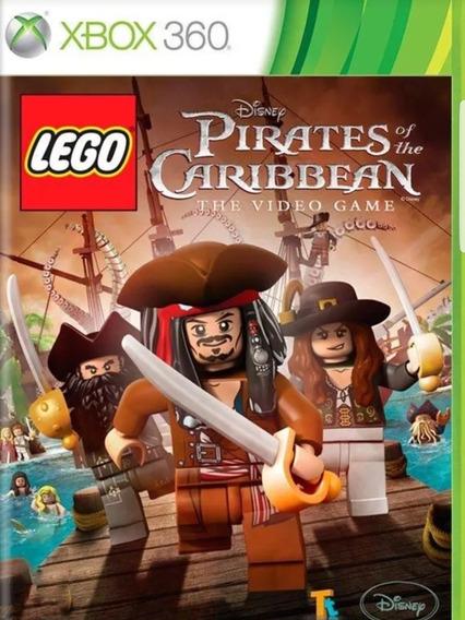 Lego Piratas Do Caribe-xbox 360-midia Digital