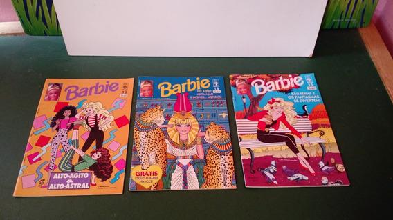 Lote De 3 Revistas Da Barbie Mattel 1993 10,14,15
