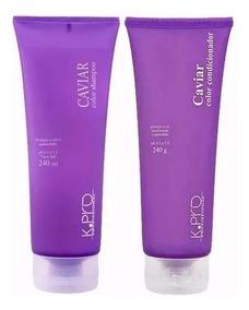 Kpro Kit Manutenção Caviar Color C/ Shampoo + Condicionador