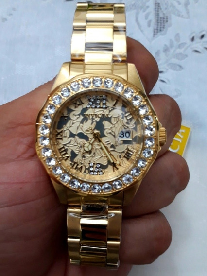 Relógio Invicta Ed. Ltda. 22870 Feminino Ouro 18k Original