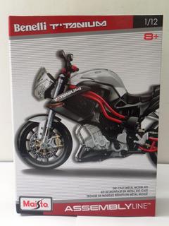 Kit - Montar Moto Metal Die Cast Maisto 1:12 Ducati Benelli