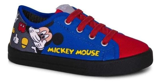 Tênis Infantil Fantasia Mickey Baby Bebê Disney Original