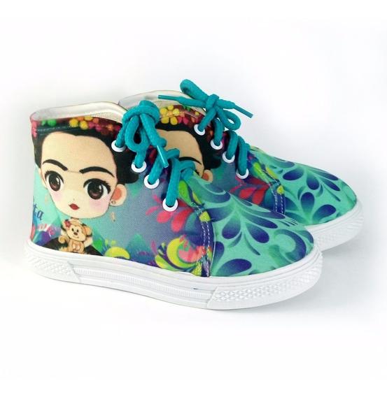 Tenis Bota Frida Kahlo Baby