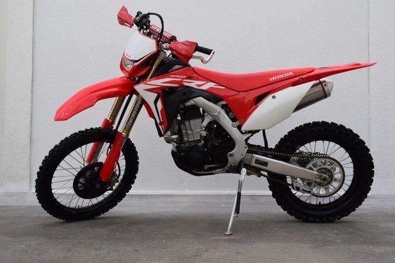 Honda Crf 450x 2019 Vermelha 1.400 Km