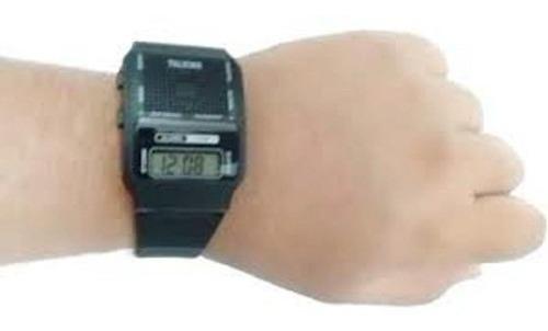Relógio De Pulso Que Fala Hora Em Português