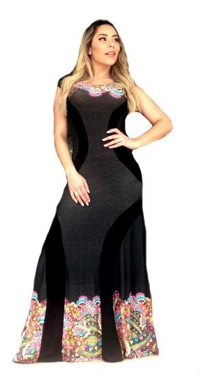 Vestido Longo Feminino Moda Casual Look Moda Evangélica