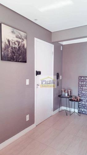 Imagem 1 de 17 de Apartamento Com 2 Dormitórios À Venda, 53 M² Por R$ 255.000 - Vila São Pedro - Hortolândia/sp - Ap1331