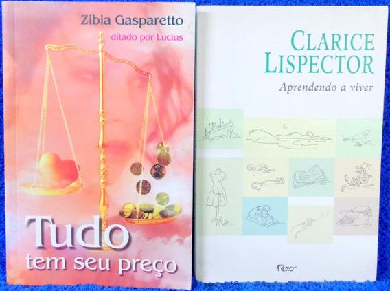 Livro Aprendendo A Viver, Tudo Tem Seu Preço Dois Livros