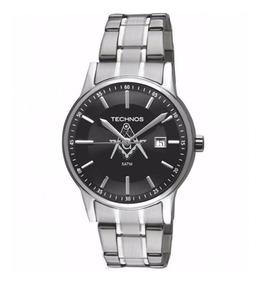 Relógio Technos Masculino 2115ro/m1p Maçonaria Prata