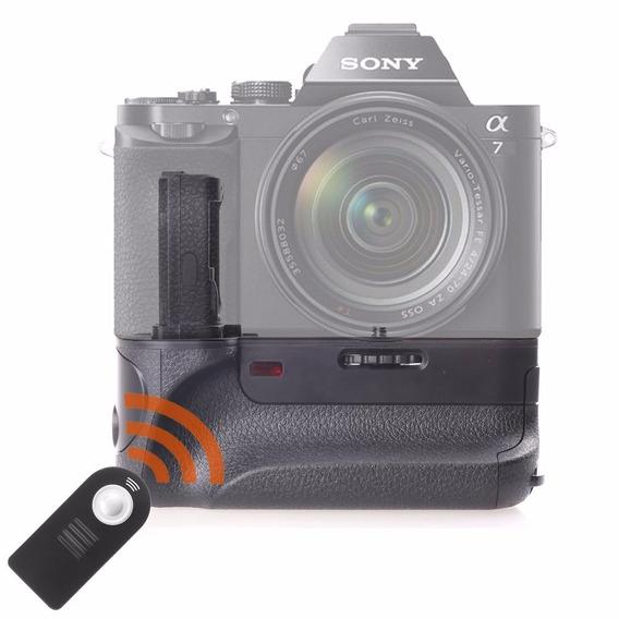 Battery Grip Travor P/ Sony Alpha A7 A7r A7s Envio Imediato