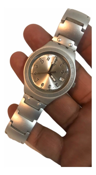 Swatch Aluminium Swiss Made Original Fechador