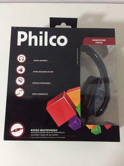 Fone De Ouvido Philco Ph02a - Azul
