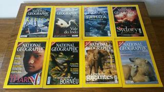 Revistas National Geographic (2000) Nº 01 Ao 08 Ed.abril