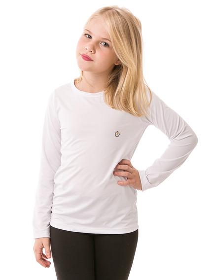 Camiseta Proteção Solar Infantil Feminina Extreme Uv Fpu50+