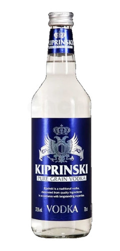 Imagen 1 de 3 de Vodka Kiprinski 700ml Francia