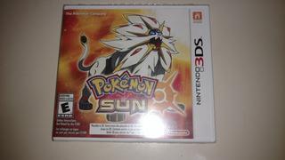 Pokémon Sun 3ds Sellado