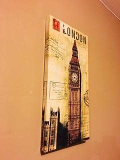 Cuadro Decorativo Paris Londres