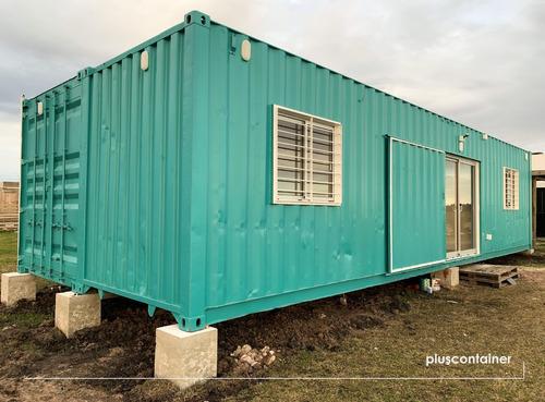Contenedor 40 Pies Hc X 2 - Casa Con 3 Dormitorios