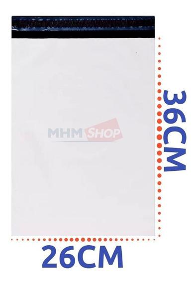 Embalagem Plástica Lacre Sedex Correio Saco 26x36 - 350un