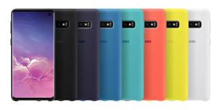Capinha Capa Silicone Celular Samsung Galaxy S10 S10+