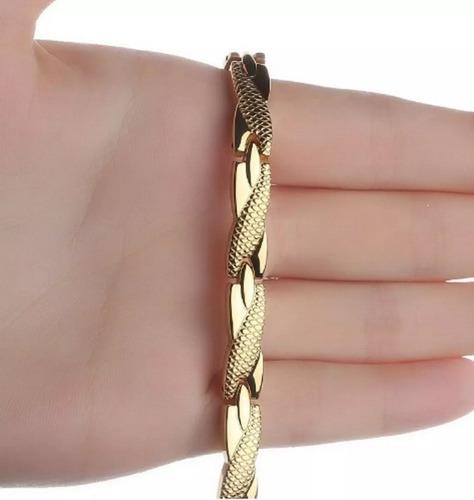 Pulseira Magnética Bio Quântica Bracelete Dores Articulares