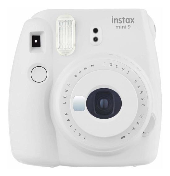 Câmera Fujifilm Instax Mini 9 Branco Fosco + Filme 20 Poses