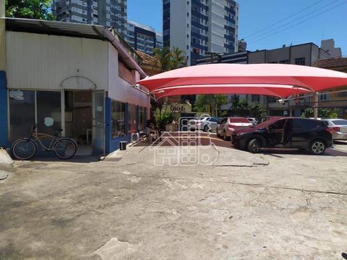 Ponto À Venda, 503 M² Por R$ 265.000,00 - Icaraí - Niterói/rj - Pt0003