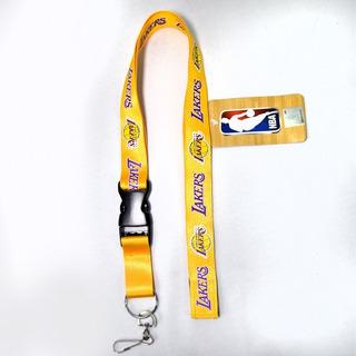 Los Angeles Lakers Nba Porta Gafete Importado 100% Original