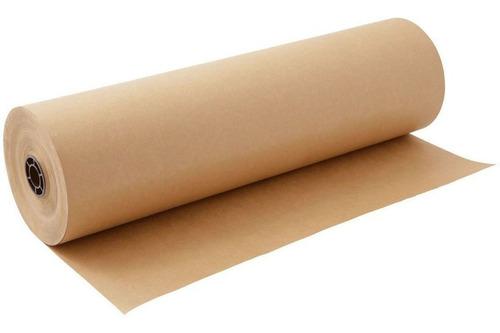 Imagem 1 de 5 de Papel Pardo Semikraft Bobina 90cm 3kg - Embalagem Caixa