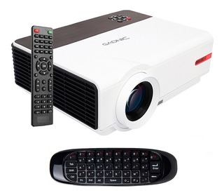 Proyector Wifi 5500 Lumens Clases Oficina Android Full Hd