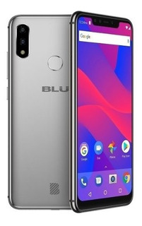 Celular Blu Vivo Xi+ Dual 6.2 Fhd 64gb/4gb Prata + Nf