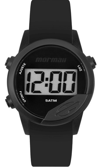 Relógio Digital Mormaii Masculino Preto Mo4100aa8p